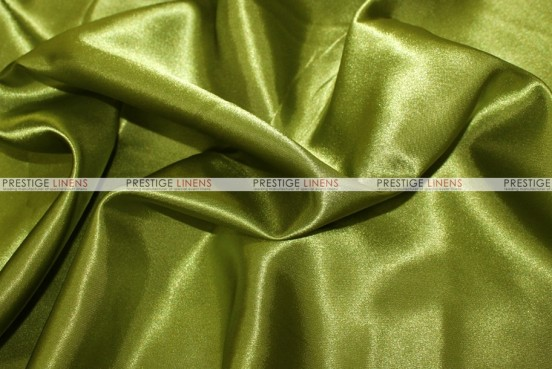 Bridal Satin Table Skirting - 749 Dk Lime