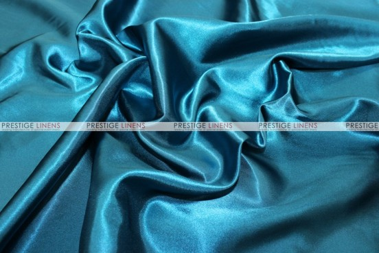Bridal Satin Table Skirting - 768 Pucci Teal