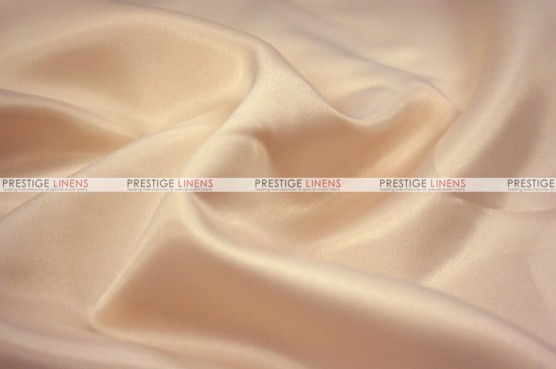 Lamour Matte Satin Table Skirting - 130 Champagne