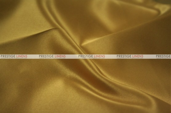 Lamour Matte Satin Table Skirting - 229 Dk Gold