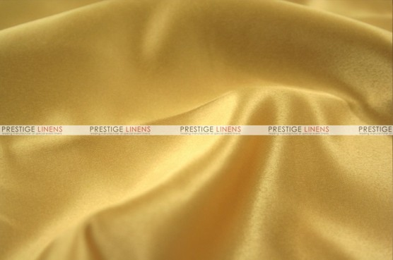 Lamour Matte Satin Table Skirting - 230 Sungold