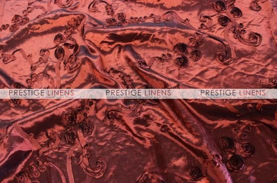 Ribbon Taffeta Draping - Burgundy