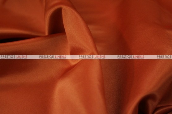 Lamour Matte Satin Table Skirting - 337 Rust