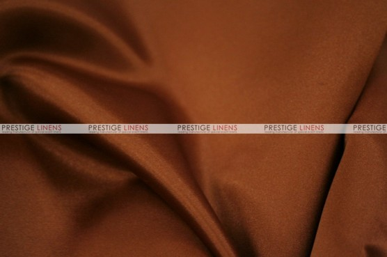 Lamour Matte Satin Table Skirting - 344 M Rust