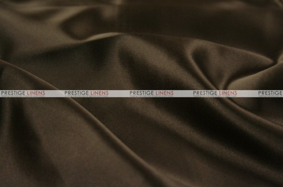 Lamour Matte Satin Table Skirting - 348 Chocolate