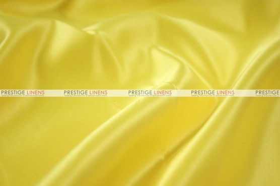 Lamour Matte Satin Table Skirting - 426 Yellow