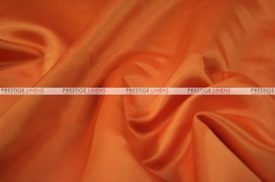 Lamour Matte Satin Table Skirting - 431 Orange