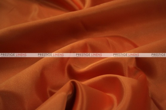 Lamour Matte Satin Table Skirting - 447 Dk Orange