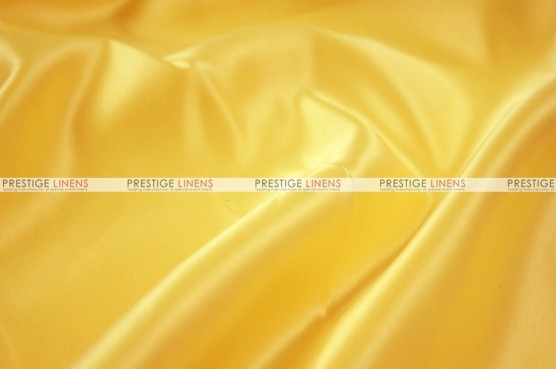 Lamour Matte Satin Table Skirting - 454 Pride Yellow