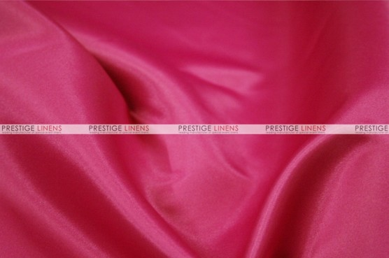 Lamour Matte Satin Table Skirting - 528 Hot Pink