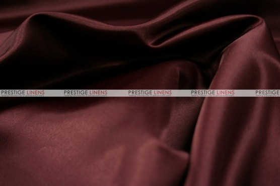Lamour Matte Satin Table Skirting - 628 Burgundy