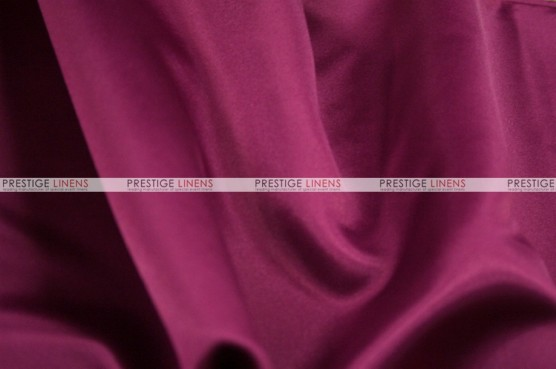 Lamour Matte Satin Table Skirting - 646 Magenta