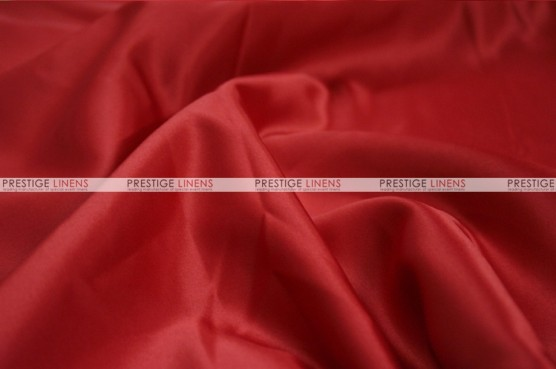 Lamour Matte Satin Table Skirting - 647 Fiesta Red