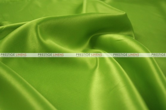 Lamour Matte Satin Table Skirting - 726 Lime