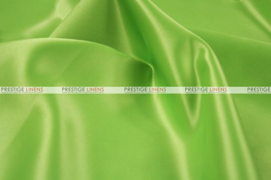 Lamour Matte Satin Table Skirting - 737 Apple Green