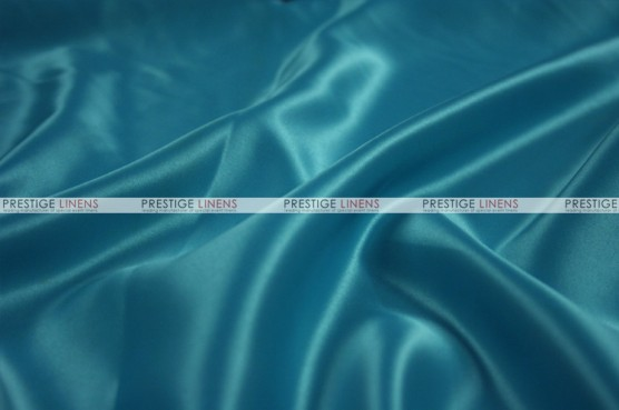 Lamour Matte Satin Table Skirting - 738 Teal