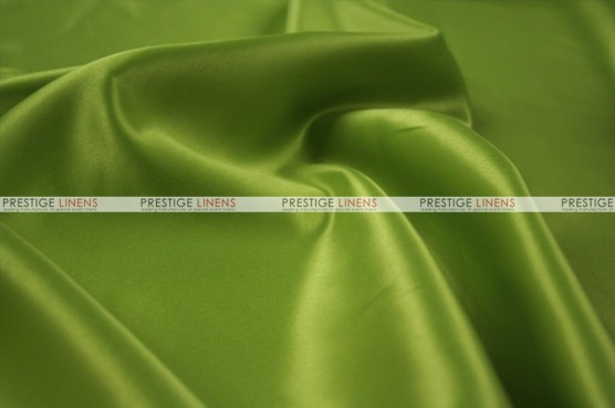 Lamour Matte Satin Table Skirting - 749 Dk Lime