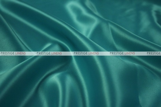 Lamour Matte Satin Table Skirting - 764 Lt Teal