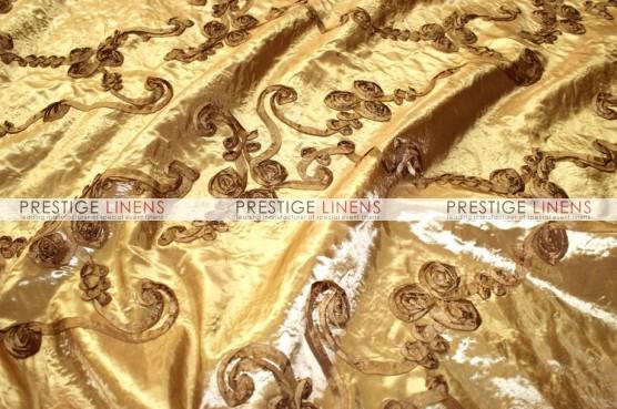 Ribbon Taffeta Draping - Gold
