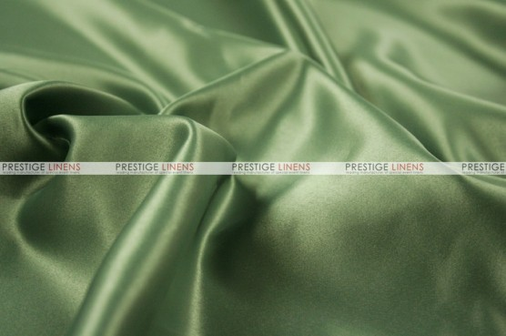 Lamour Matte Satin Table Skirting - 829 Dk Sage