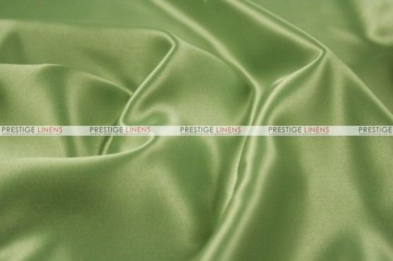 Lamour Matte Satin Table Skirting - 835 Lt Sage