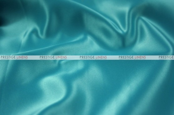 Lamour Matte Satin Table Skirting - 953 Chinese Aqua