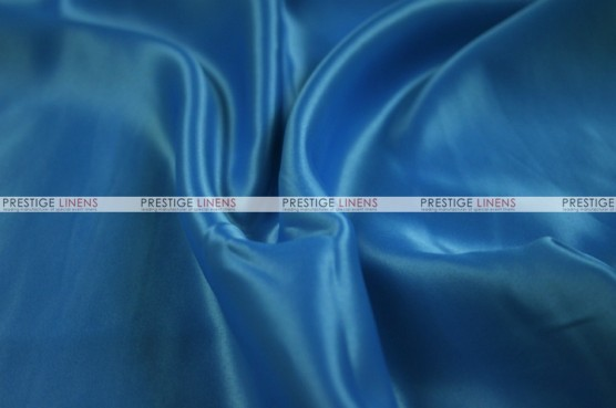 Lamour Matte Satin Table Skirting - 958 Peacock Blue