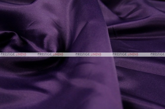 Lamour Matte Satin Table Skirting - 1033 Lt Plum