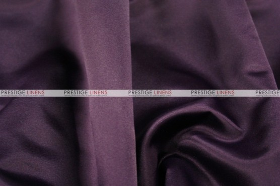 Lamour Matte Satin Table Skirting - 1034 Plum