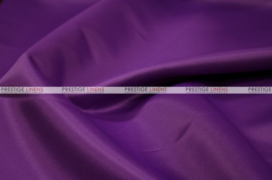 Lamour Matte Satin Table Skirting - 1044 Eggplant