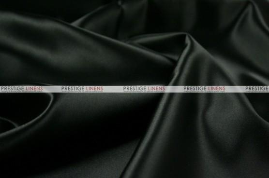 Lamour Matte Satin Table Skirting - 1127 Black