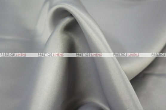 Lamour Matte Satin Table Skirting - 1142 M Grey