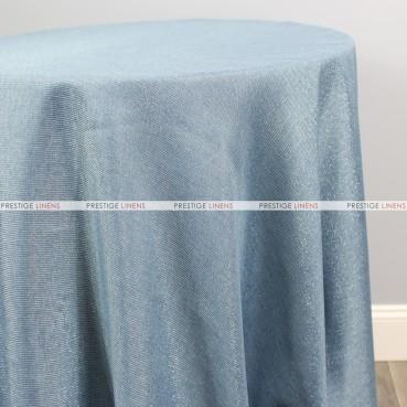 Vintage Linen Metallic Table Linen - Copen