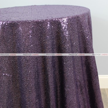 Glitz Table Linen - Plum