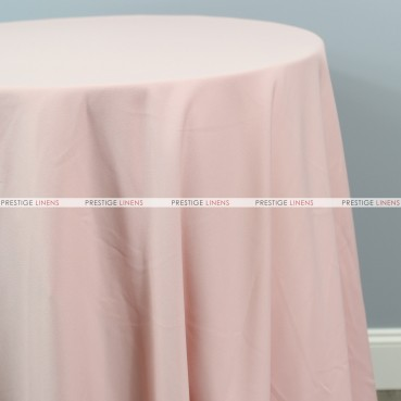 Scuba Stretch Table Linen - Blush