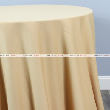Scuba Stretch Table Linen - Champagne
