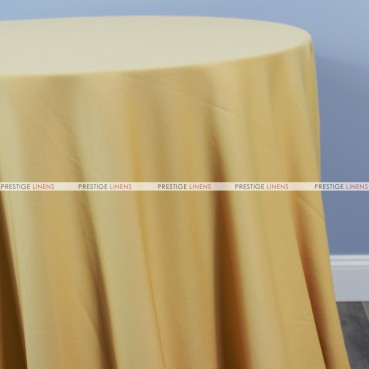 Scuba Stretch Table Linen - Gold