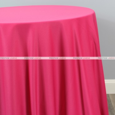 Scuba Stretch Table Linen - Fuchsia