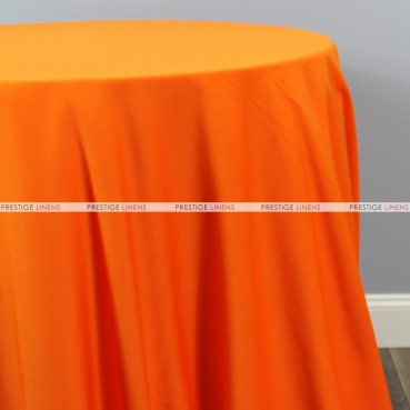 Scuba Stretch Table Linen - Orange