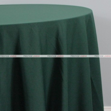 Scuba Stretch Table Linen - Hunter