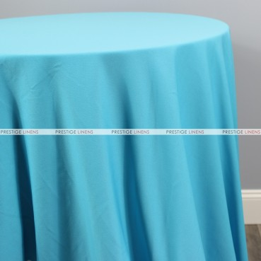 Scuba Stretch Table Linen - Turquoise
