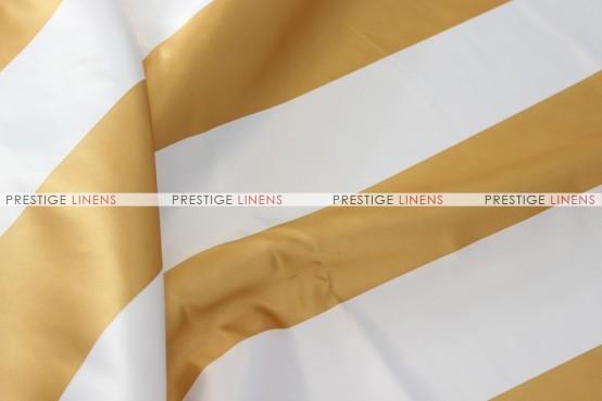 Striped Print Lamour Napkin - 3.5 Inch - Gold