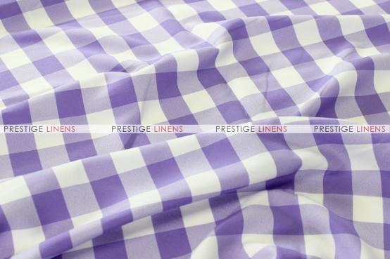 Gingham Buffalo Check Pillow Cover - Lilac
