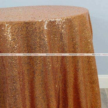 Glitz Chair Caps & Sleeves - Copper