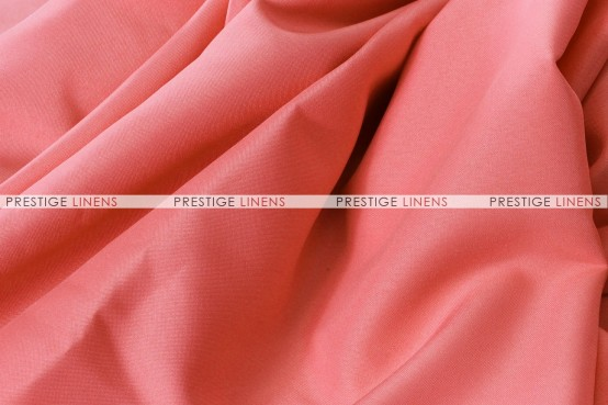 Polyester (Double Width) Draping - 432 Coral