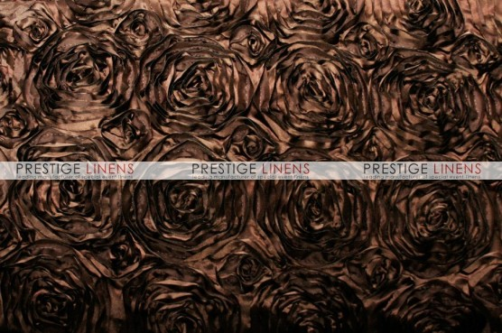 Rosette Satin Draping - Brown