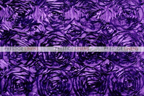Rosette Satin Draping - Lt Purple