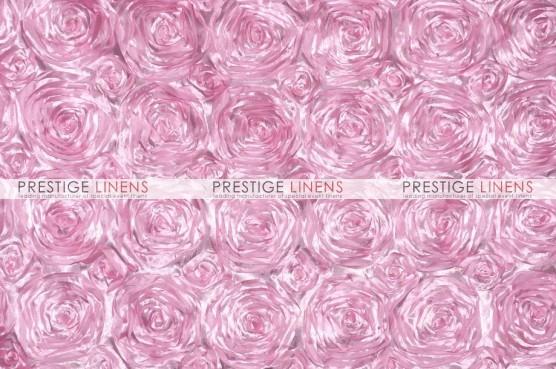 Rosette Satin Draping - Pink