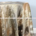 BRUSHSTROKE TABLE LINEN - SILVER/GOLD