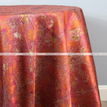 TIBUR TABLE LINEN - POMEGRANATE